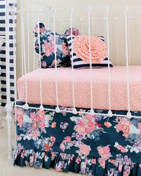 floral crib bedding archives lottie da baby