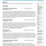 Example It Resume by Free Resume Templates 87 Marvelous For Word 2007 U201a Freshers In