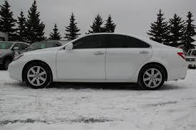 2009 lexus es 350 white 2008 lexus es350 premium plus envision auto calgary highline