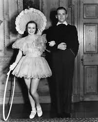 joan crawford and then husband douglas fairbanks jr at marion