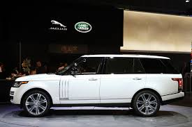 range rover side view 2014 land rover range rover lwb autobiography black image 4 7