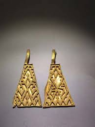 ancient gold silver ornaments