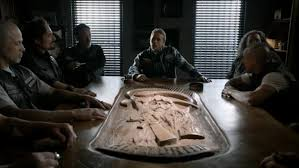 Sons Of Anarchy Meeting Table Find Out What The Sons Of Anarchy Cast Will From Set After