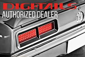 68 chevelle tail lights digi tails tail light led sequential panel kit