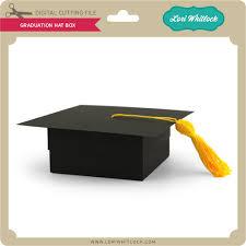 graduation box graduation hat box lori whitlock s svg shop