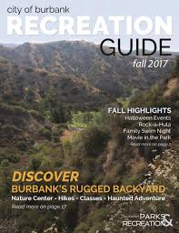 recreation guide burbank ca