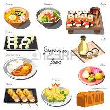 jeux de cuisine japonaise jeu de cuisine coréenne collection de plats alimentaires clip