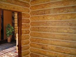 log home interior walls lifeline interior butternut log home stain and perma