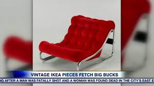 vintage ikea pieces are fetching big bucks