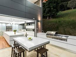 how to pull off an indoor outdoor kitchen ktchn mag