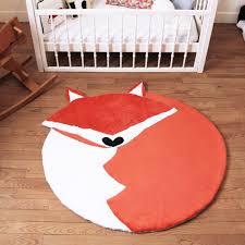 tapis chambre bébé garçon le grand tapis gaspard orange grands tapis décoration chambre