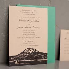 mountain wedding invitations mountain wedding ideas 50 to inspire emmaline
