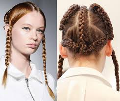 hair styles for spring 2015 spring 2015 braided hairstyles inspired from the runway maria ke