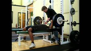 Training Bench Press Weight Training For Sprinting Bench Press Youtube