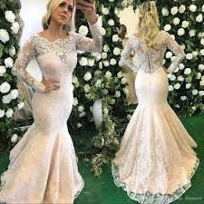 2018 wedding dresses trumpet style plus size mermaid wedding gowns
