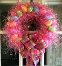 how to make an easter egg wreath how to make an easter egg wreath tutorial