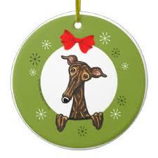 greyhound ornaments keepsake ornaments zazzle