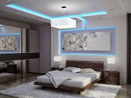 Lighting In Bedrooms Colored Led Ceiling Lighting In Ultra Modern Suspended Ceiling