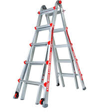 werner 22 ft aluminum telescoping multi position ladder with 300