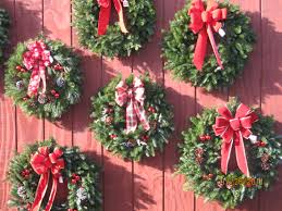fresh wreaths fresh wreaths made on the farm solvang tree farm