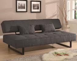 Modern Armless Sofa Coaster Furniture Contemporary Armless Sofa Bed In Grey Co300137