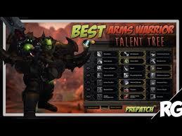 Bajheera Legion Arms Warrior Talent Guide Pve Pvp Best Arms Warrior Pvp Build Guide Prepatch 7 0 3