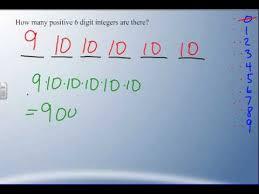math a30 6 1 fundamental counting principle youtube