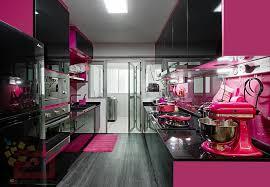 pink kitchen ideas hdb bto pink kitchen at blk 430a yishun orchid