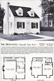 cape cod style floor plans the new castle kit house floor plan made by the aladdin company in