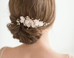 floral hair accessories wedding hair accessories etsy