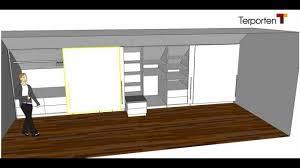 Schlafzimmerschrank Einbauschrank Kleiderschrank In Einer Dachschräge Terporten Tischler Schreiner