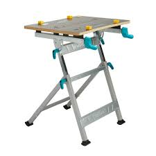 mac allister foldable quick grip clamp workbench w 550mm