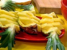 how to cut up a pineapple recipes dinners and easy meal ideas