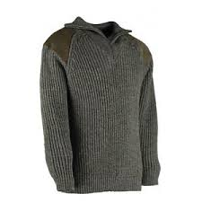 shooting sweater 100 wool zip collar country jumper shooting sweater