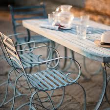 Aluminium Garden Chairs Uk Buy Verdigris Rectangular Garden Dining Sets Burford Garden Company