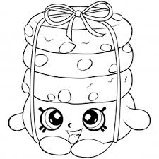25 rare shopkins season 6 coloring pages