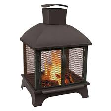 Outdoor Fireplace Images landmann redford 26 in wood burning outdoor fireplace 25722 the