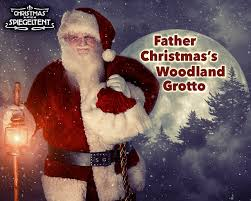 father christmas u0027s woodland grotto in bristol