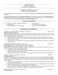 business analyst resume objective examples senior business
