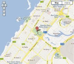 safa park dubai location map and reviews