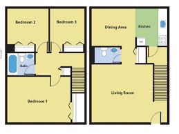 Three Bedroom Townhouse Forest Ridge Apartments Princeton Properties