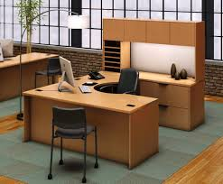 u shaped desks u shaped desk with hutch style all office desk design