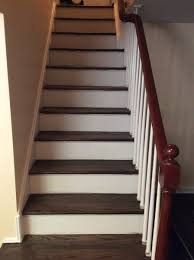 refinishing hardwood steps westfield