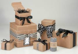 wrapped gift boxes kraft gift boxes the best gift box