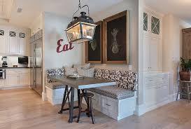 Modern Banquette Dining Sets Designs Ideas Blue And White Banquette Dining Set And Oval White