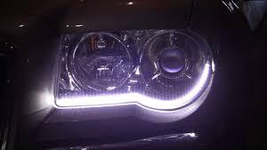 Install Led Light Strip by Chrysler 300c Led Drl Install Youtube