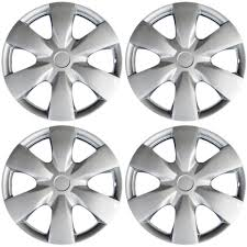 amazon com hubcaps for toyota yaris pack of 4 wheel covers 15