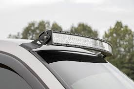 Led Light Bar Installation by 54in Curved Led Light Bar Upper Windshield Mounting Brackets For