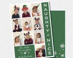 multiple photo card etsy