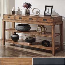 console table tv stand lonny 3 drawer wood console table tv stand by inspire q classic
